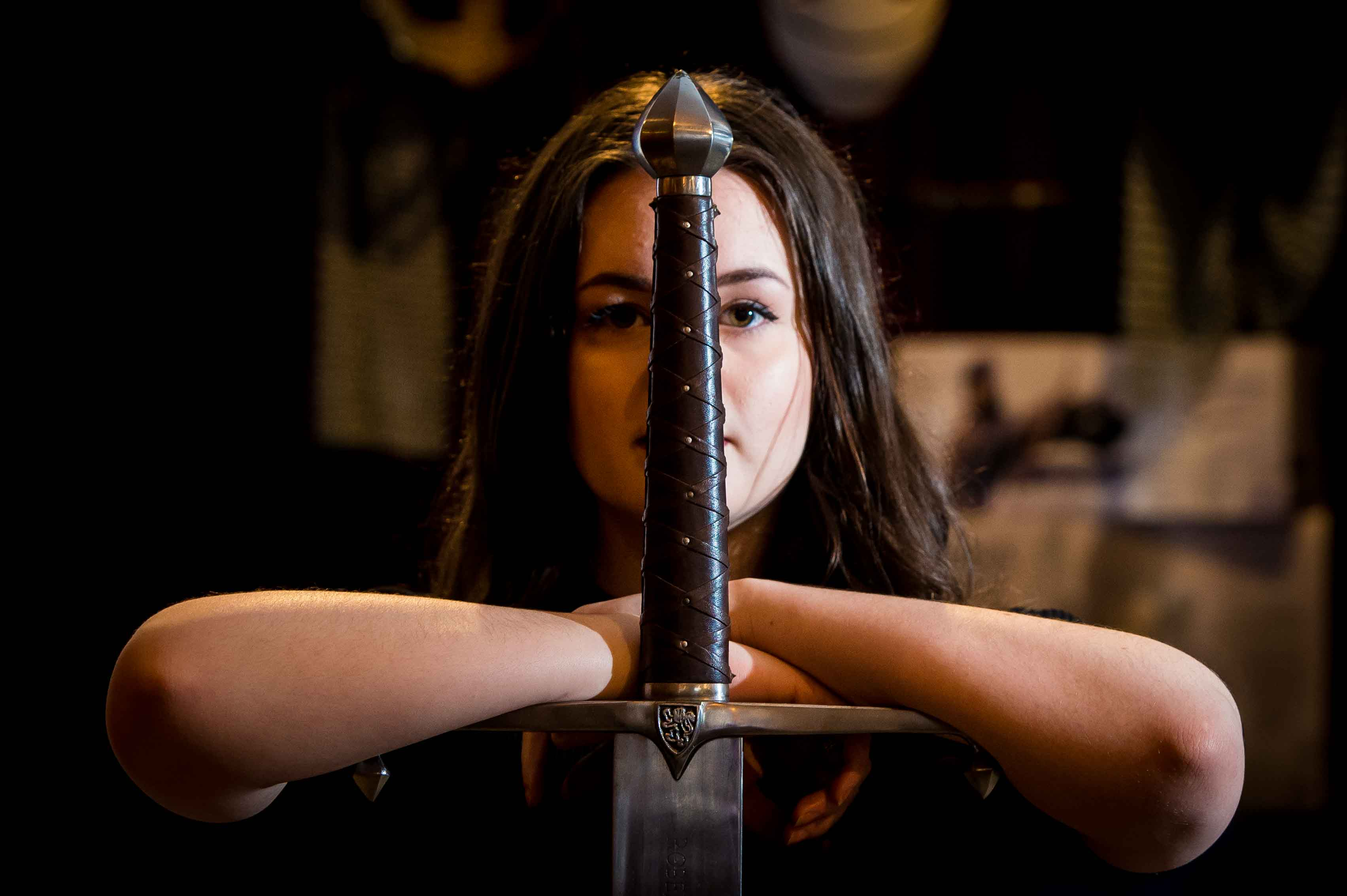 Meet Charis Fleming Bladesmith And The Knight S Vault