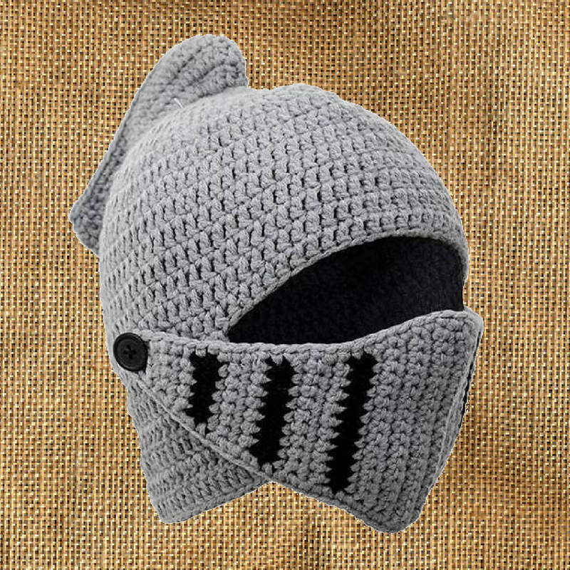 Knitted Knight Hat • The Knights Vault c9e27a8c07f