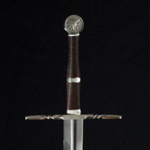 Witcher Wild Hunt Sword from The Witcher 3 series on Netflix
